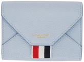Thom Browne Blue Envelope Card Holder