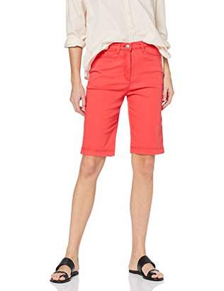 Raphaela by Brax Women's Laura Bermuda | Super Slim | 12-6207 Skinny Jeans, (Red 43), (Size: 46)