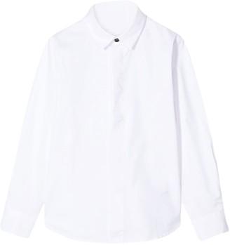 Paolo Pecora Kids Plain Long Sleeves Shirt
