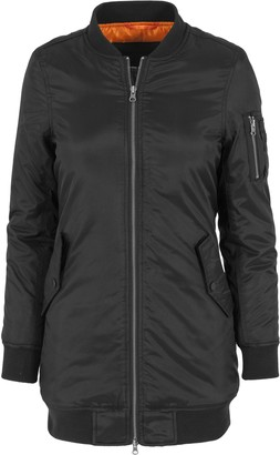 Urban Classics Women's Jacke Long Bomber Jacket