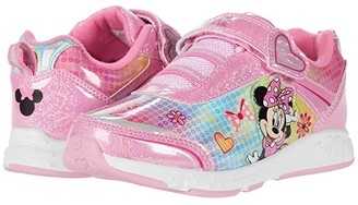 Josmo Kids Minnie Mouse Sneaker (Toddler/Little Kid) (Pink Metallic) Girl's Shoes