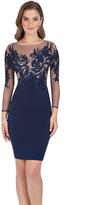 Terani Couture Spectacular Illusion Mini Dress 1611C0001