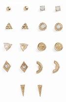 BP Women's 9-Pack Geo Stud Earrings