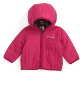 Columbia Infant Girl's Double Trouble(TM) Reversible Water-Resistant Hooded Jacket