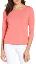 Eileen Fisher Women's Ballet Neck Tee