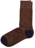 Falke Cotton-Nylon Dot Ankle Socks