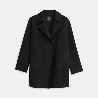 Theory Overlay Coat in Double-Face Wool-Cashmere