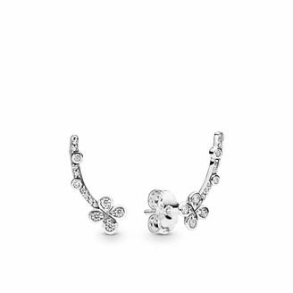 Pandora Women Silver Stud Earrings 297936CZ