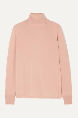 L.F. Markey Joshua Wool Turtleneck Sweater - Pink