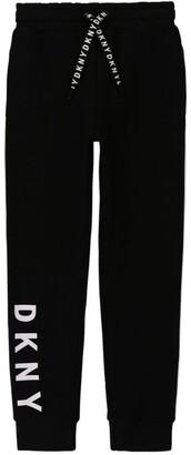 DKNY Logo-Stripe Sweatpants (6-16 Years)