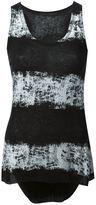 Haider Ackermann striped top - women - Cotton/Cashmere - M