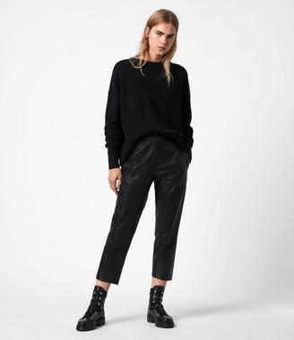 AllSaints Jen Leather Joggers