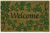 "Bacova English Ivy 18"" x 28"" Welcome Doormat"