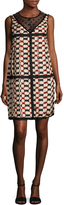 Marc Jacobs Women's Silk Printed Sleeveless Shift Dress