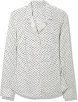 L.L. Bean Signature Lightweight Cotton Shirt, Geo Print