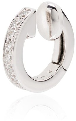 Repossi 18kt white gold Berbere diamond ear cuff