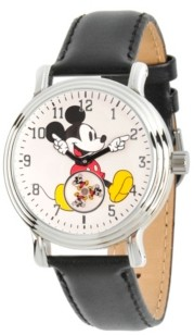 EWatchFactory Disney Mickey Mouse Women's Silver Vintage Alloy Watch