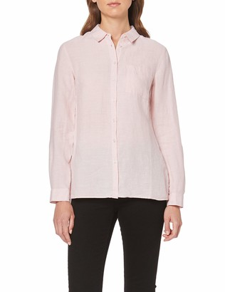 Meraki Amazon Brand Women's Long Sleeve Linen Shirt