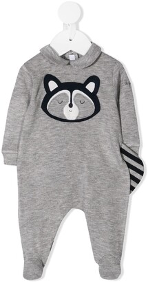 Il Gufo Racoon Motif Pajamas