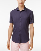 Vince Camuto Men's Chambray Cotton Shirt