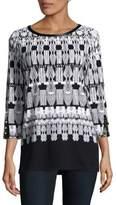 Rafaella Cotton Printed Shirt