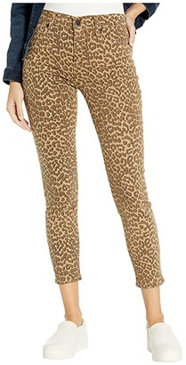 Lucky Brand Mid-Rise Ava Skinny Jeans in Aster