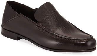 Ermenegildo Zegna Rever Flex Deerskin Moccasin Loafers