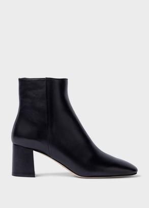 Hobbs Imogen Leather Block Heel Ankle Boots