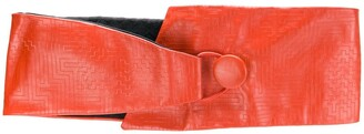 Missoni Pre-Owned Embossed Thick Belt