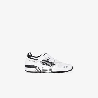 Asics White Gel Lyte III OG Crossing sneakers
