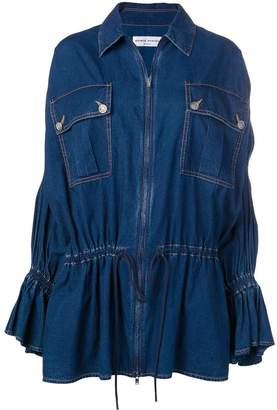 Sonia Rykiel zipped denim jacket
