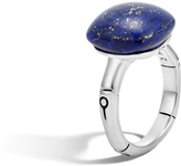 John Hardy Women's Bamboo Orb Ring in Sterling Silver with 14MM Lapis Lazuli