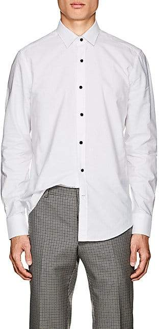 Lanvin Men's Cotton Dress Shirt - White