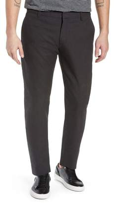 Vince Griffith Slim Fit Microgrid Pants