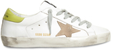 Golden Goose Deluxe Brand Super Star low-top suede and leather trainers