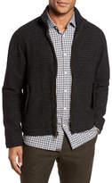 Billy Reid Neil Wool Blend Zip Front Jacket