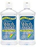 Dickinson's T.N. Astringent, 100% Natural, Witch Hazel 16 fl oz (473 ml) (2 Pack)