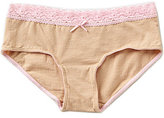 Copper Key Big Girls 7-16 Basic Lace Hipster Panty