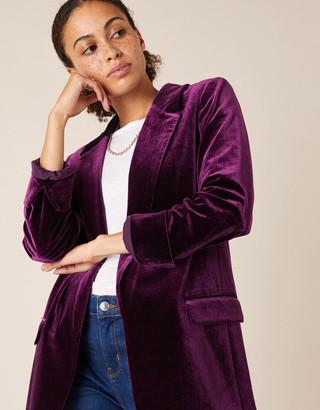 Under Armour Velvet Blazer Purple