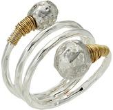 Robert Lee Morris Sculptural Bead Wrap Ring
