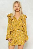 Nasty Gal Through the Tulips Floral Dress