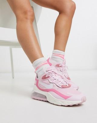 Nike 270 React sneakers in pink