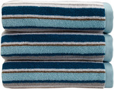 Christy Portobello Stripe Towel - Surf - Hand Towel
