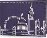 London Undercover London skyline recycled leather card holder