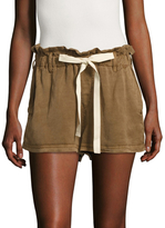 Free People Hi Waist Washed Shorts
