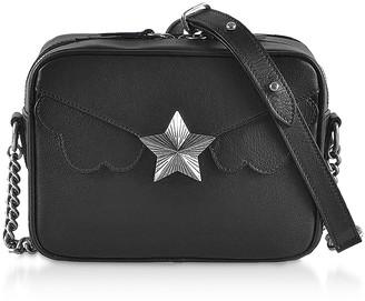 Les Jeunes Etoiles Genuine Leather Camera Bag w/Star