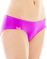 JCPenney Flirtitude Microfiber Ruched Hipster Panties
