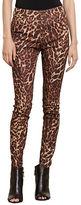 Lauren Ralph Lauren Petite Ocelot Print Skinny Jeans