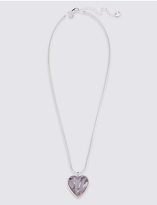 M&S Collection Heart Swirl Pendant Necklace