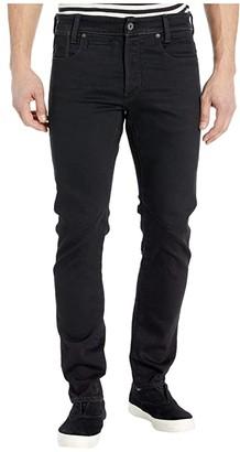 G Star G-Star D-Staq Pop Five-Pocket Slim in Jet Black (Jet Black) Men's Jeans
